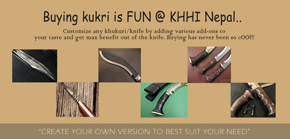 add-ons for kukri/knives